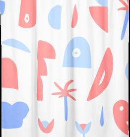 "Costume de Bain Shower Curtain ""Chaos"""