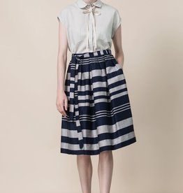 Jennifer Glasgow Cristales pleated skirt