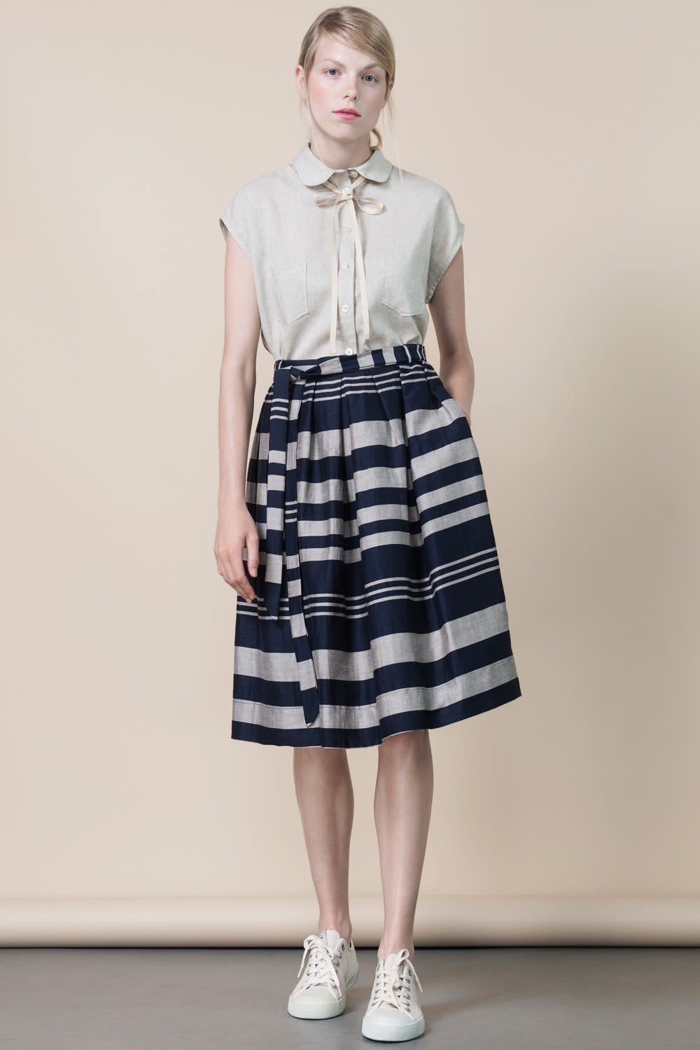 Jennifer Glasgow Jennifer Glasgow - Cristales pleated skirt