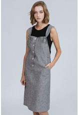 Pillar Pillar - Glaston Overall dress