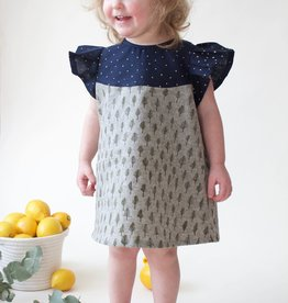 Supayana Jenna Rose Trees and Stars Dress