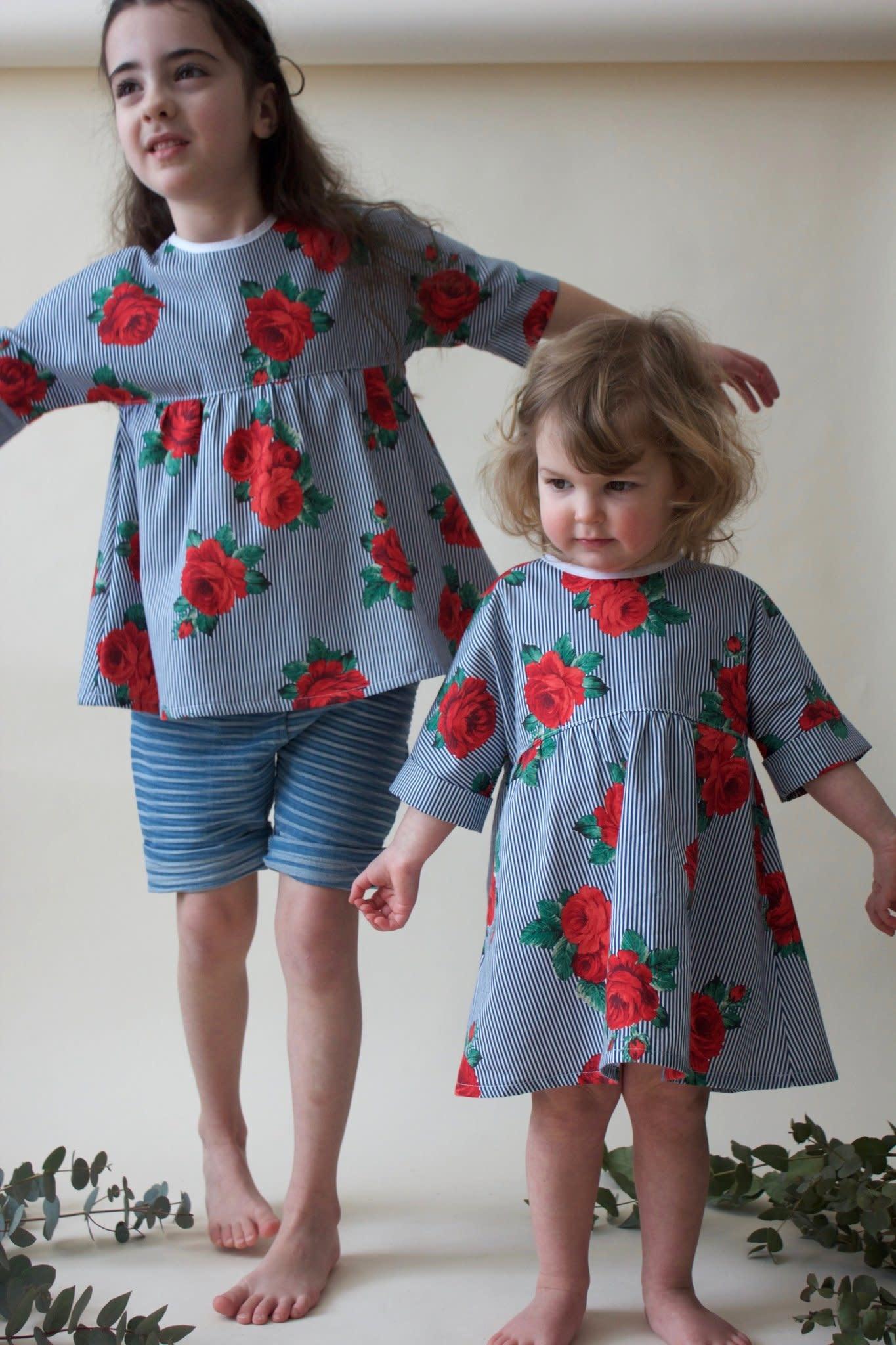 Supayana Supayana - Robe motif roses