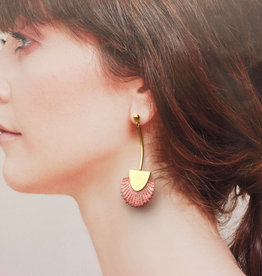 This Ilk Palmas Earrings (White)
