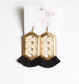 This Ilk Impala Earrings (Beige/Black)