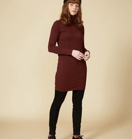 Cokluch AQUARIUS Dress (Burgundy)