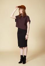 Cokluch Cokluch - BLACK MIRROR Skirt (Black)