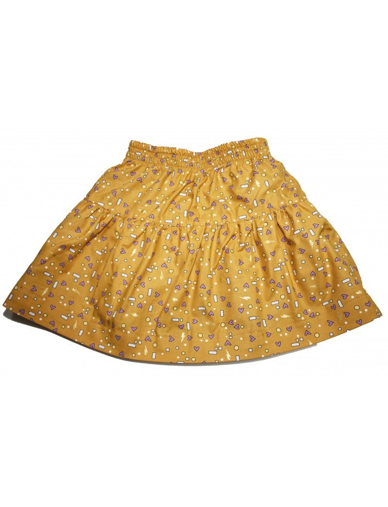 Alice & Simone Alice & Simone - Gold Mouse Reversible Skirt