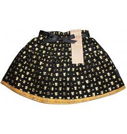 Alice & Simone Gold Mouse Reversible Skirt