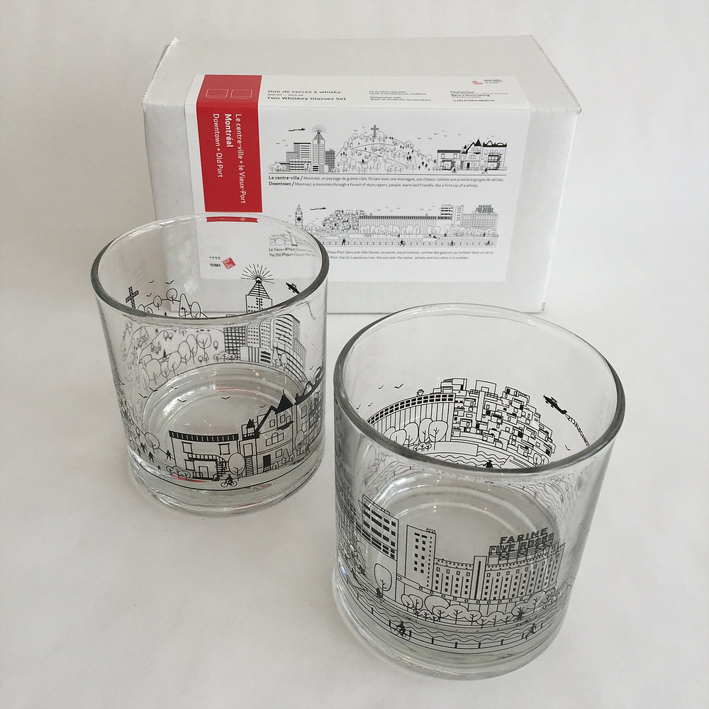 TOMA TOMA - Duo de verres à whisky