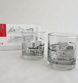 TOMA Whiskey Glasses Duo Set