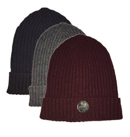Desloups Roll-Up Ribbed Tuque