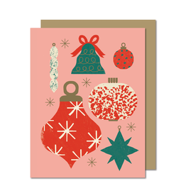 Paperole ORNAMENTS Greeting Card