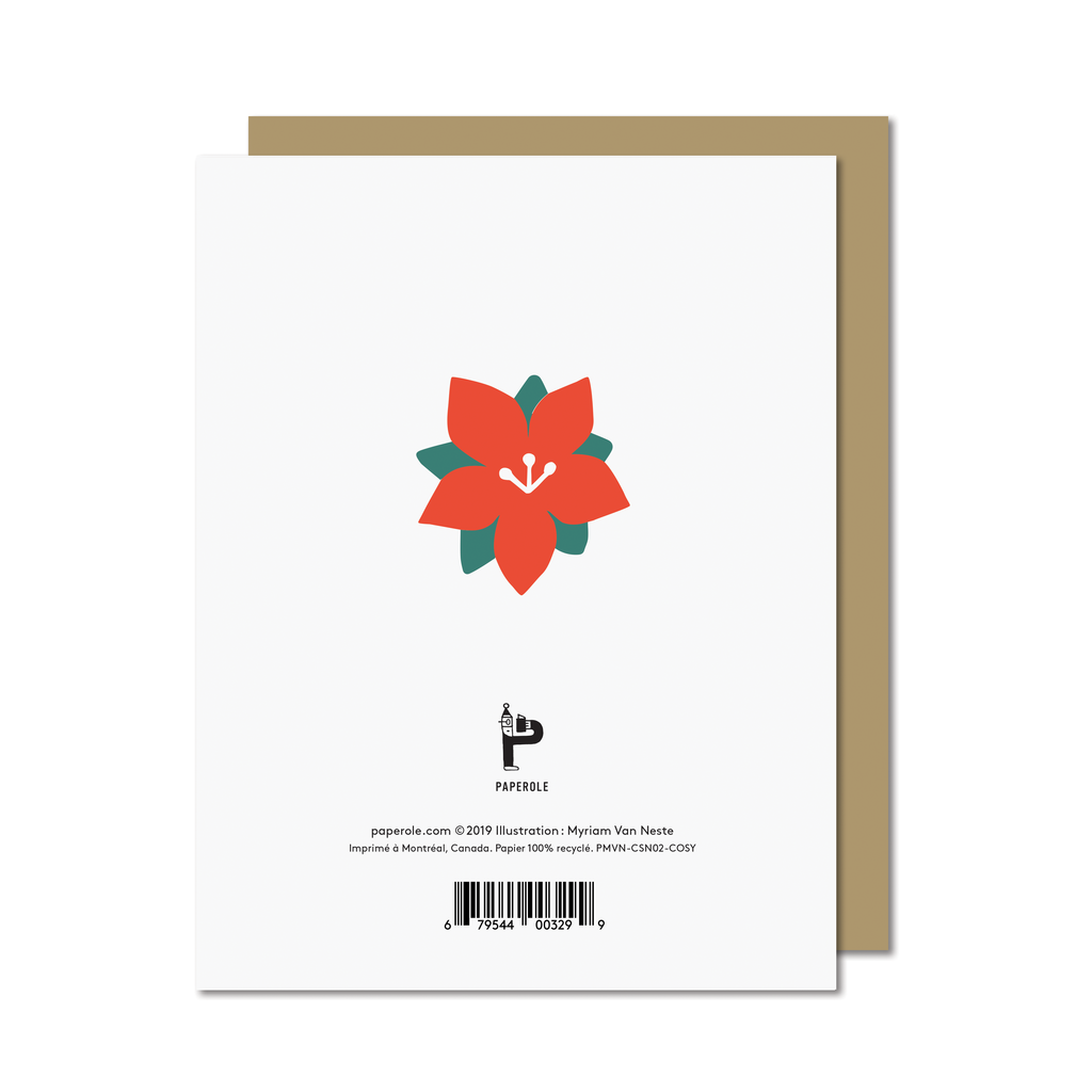 Paperole Paperole - COSY Greeting Card