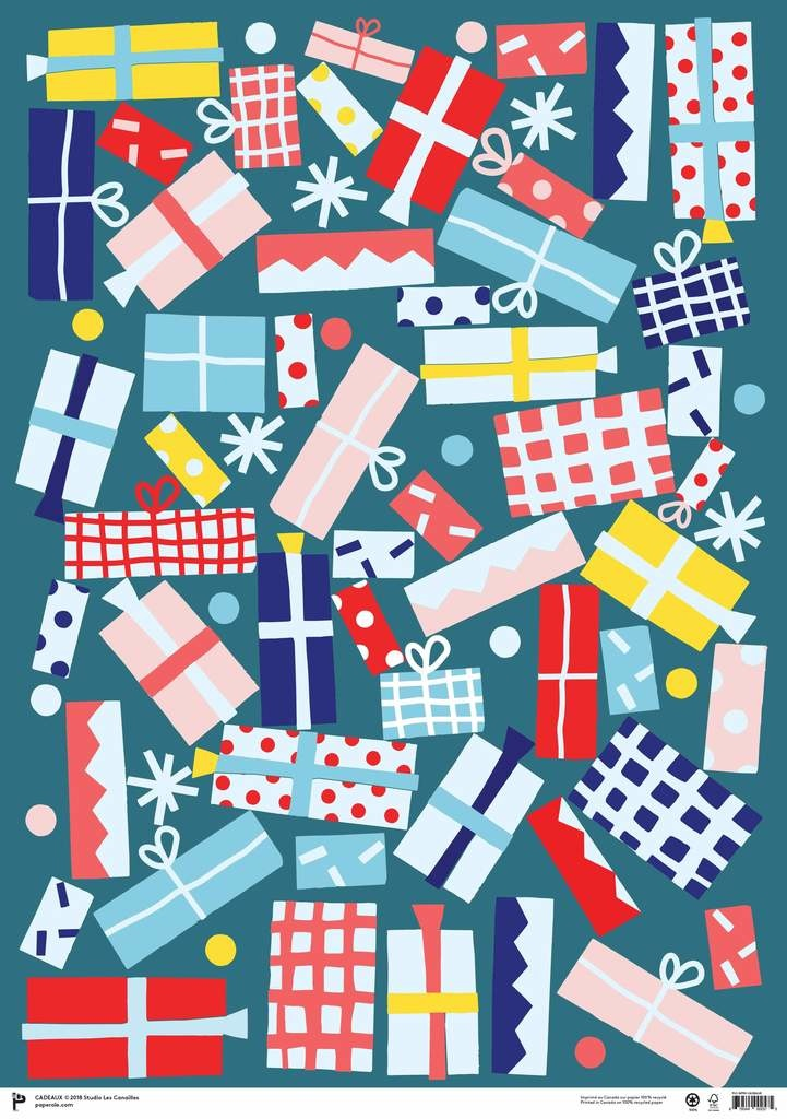 Paperole Paperole - Wrapping Paper, Pack of 3