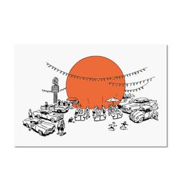 Paperole Carte postale Orange Julep