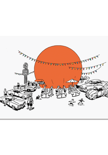 Carte postale Orange Julep