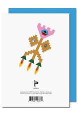 Paperole Paperole - FUSÉE Carte de souhaits