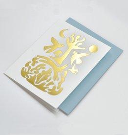 Paperole CARTE ONIRIQUE Carte de souhaits