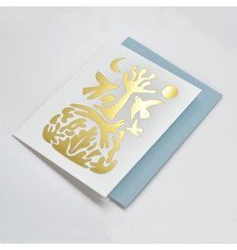 Paperole CARTE ONIRIQUE Greeting Card