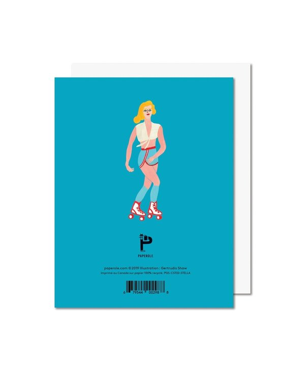 Paperole - STELLA Carte de souhaits