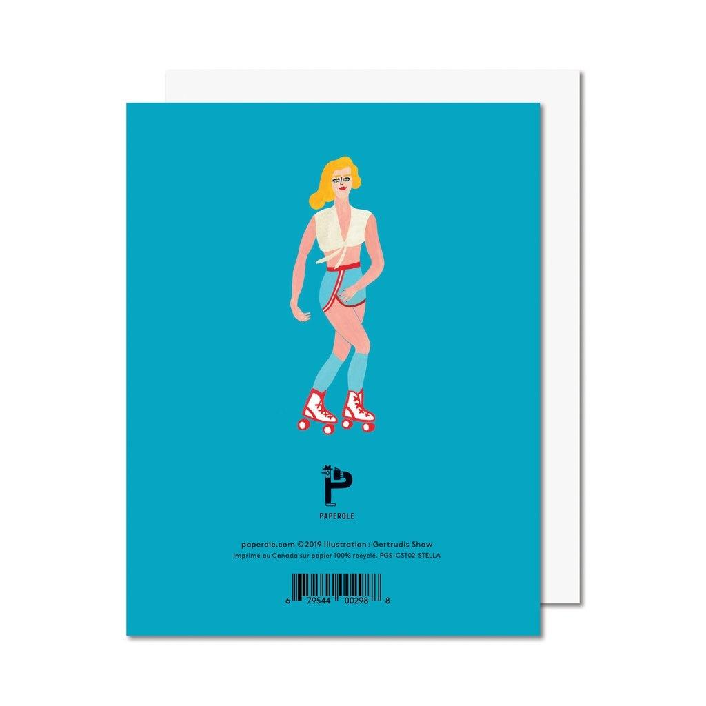 Paperole Paperole - STELLA Carte de souhaits