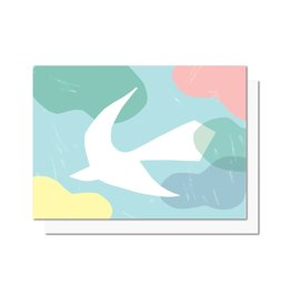 Paperole OISEAU Greeting Card