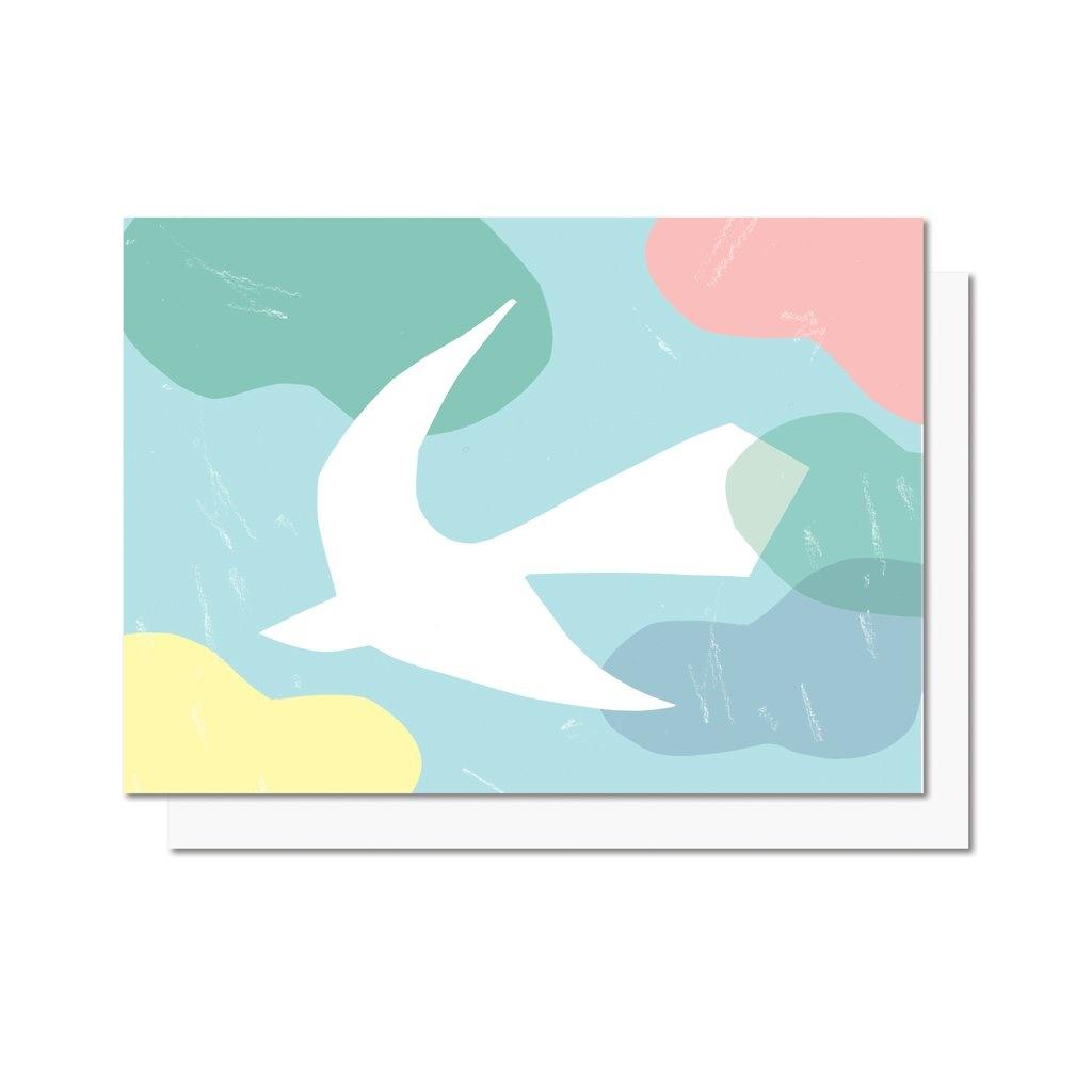 Paperole Paperole - OISEAU Carte de souhaits