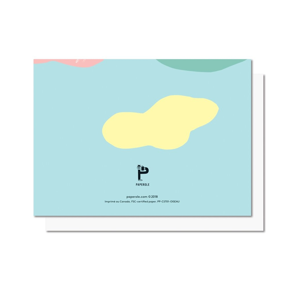 Paperole Paperole - OISEAU Greeting Card