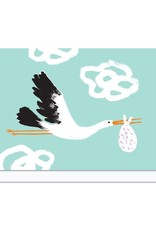 Paperole Paperole - CIGNOGNE Greeting Card