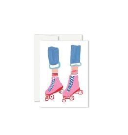 Paperole ROLLER Mini Carte de souhaits