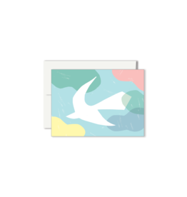 Paperole COLOMBE Mini Greeting Card