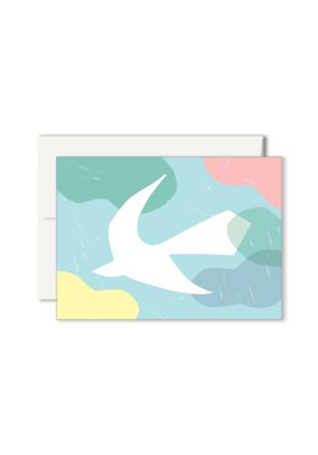 COLOMBE Mini Carte de souhaits
