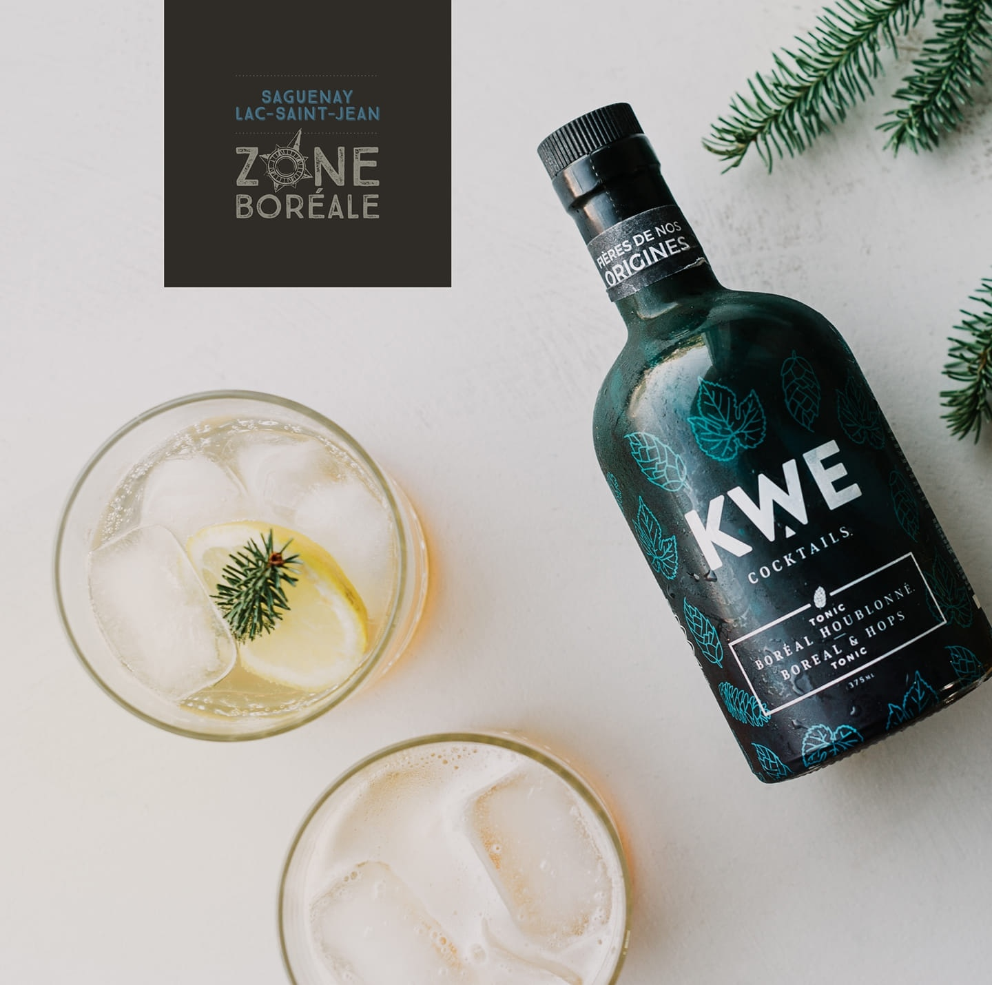 KWE Cocktails KWE Cocktails - Northern Boreal Tonic