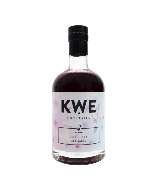 KWE Cocktails - Morello cherry Syrup