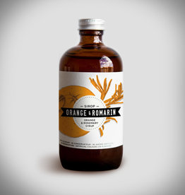 Charlatans Orange & Rosemary Syrup