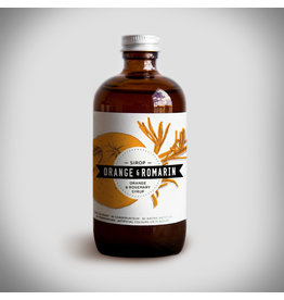 Charlatans Orange & Rosemary Syrup