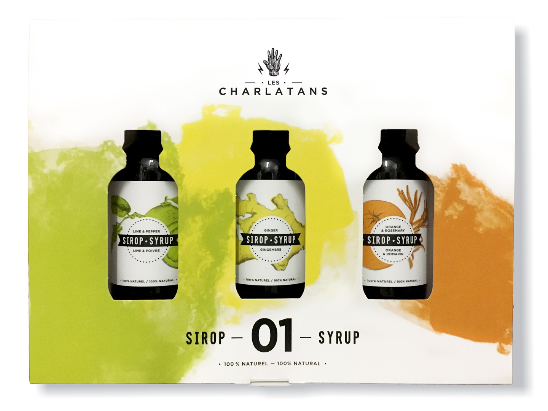 Charlatans Les Charlatans - Trio sirops