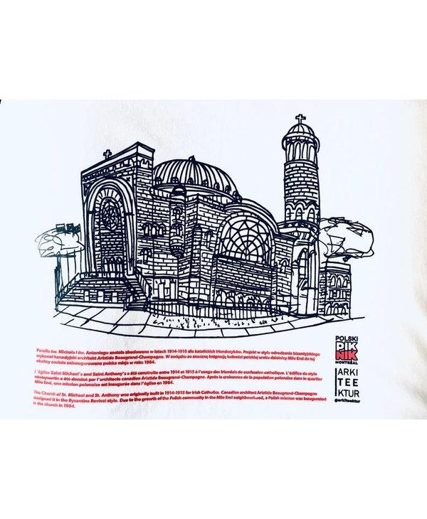 Arkiteektur - T-shirt Église Polonaise