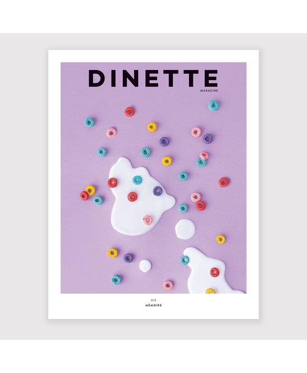 Dinette Magazine 015: Mémoire