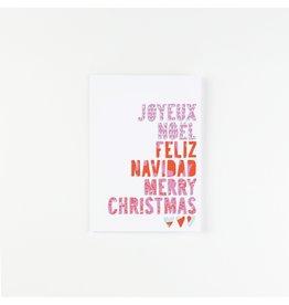 HeyMaca Feliz Navidad Greeting Card