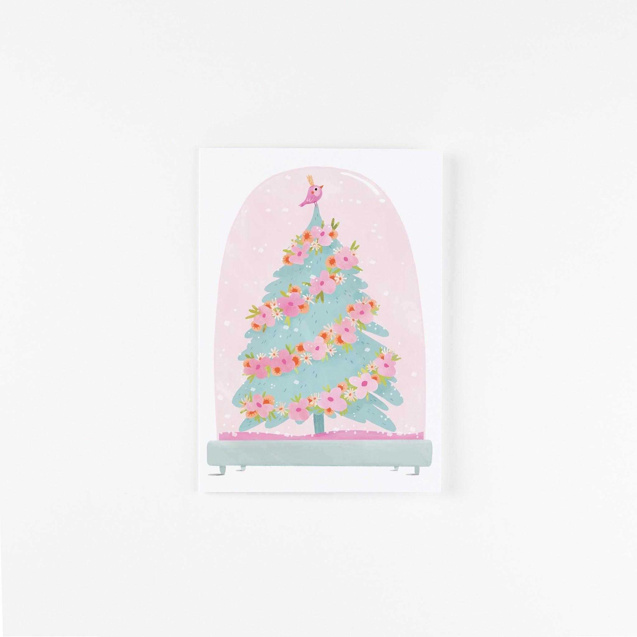 HeyMaca HeyMaca - Carte Snow Globe