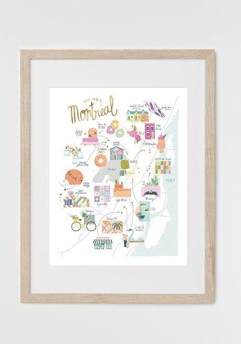 MTL Hidden Gems Print (18x24)