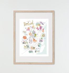 HeyMaca Print  MTL Hidden Gems (8x10)