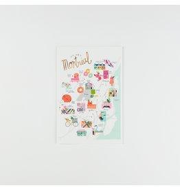 HeyMaca MTL Hidden Gems Postcard