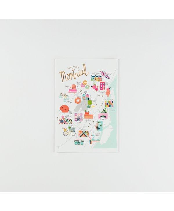 HeyMaca - MTL Hidden Gems Postcard