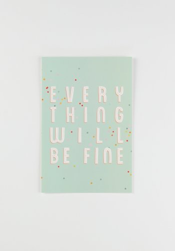 Everything Will Be Fine Postcard