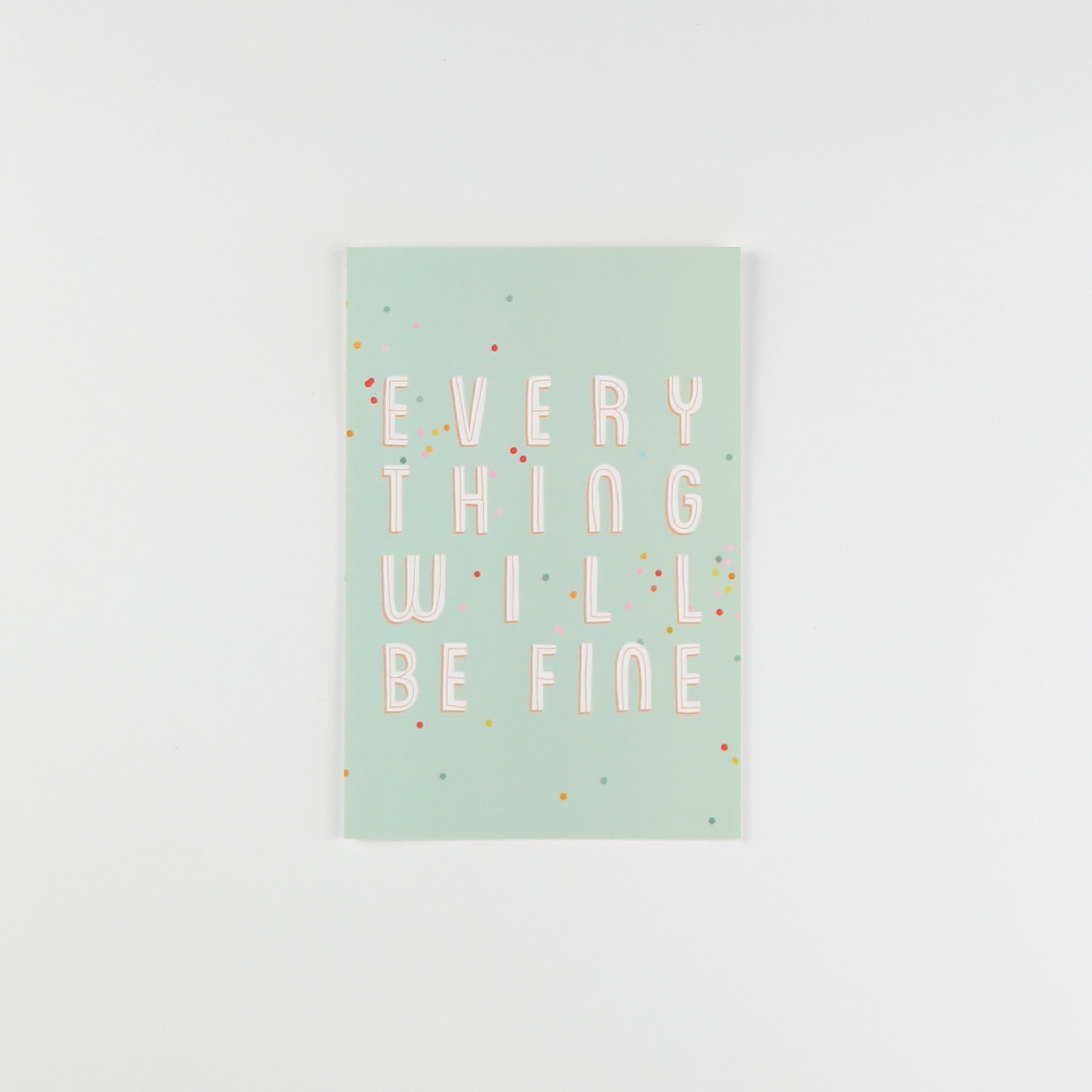HeyMaca HeyMaca - Everything Will Be Fine Postcard