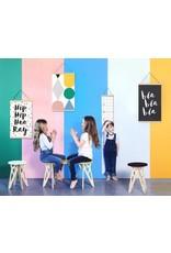 Gautier Studio Gautier Studio Canvas Wall Hanging HIP HIP