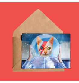 So Meow David Cat Greeting Card