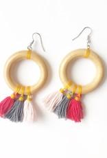 Loop earrings Valentina